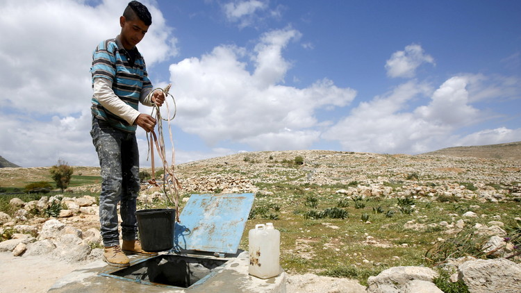 انقطاع مياه الشرب في الضفة الغربية وسط قيظ الصيف