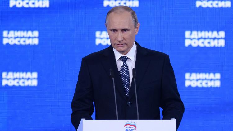 بوتين: يجب تجنب انقسام المجتمع قبيل الانتخابات