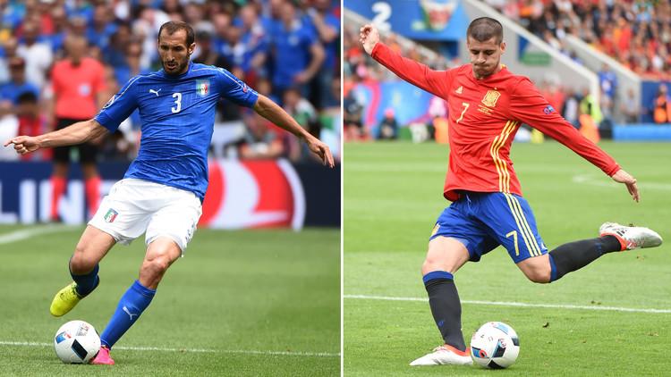 تشكيلة إيطاليا وإسبانيا .. (يورو 2016)
