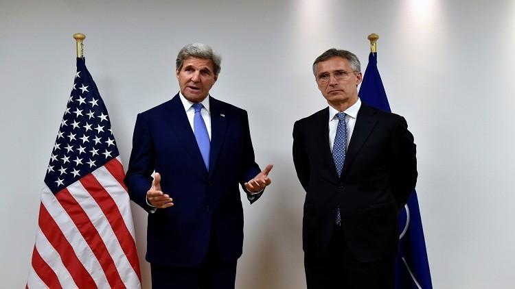 كيري وأمين عام الناتو يؤكدان أهمية الحلف