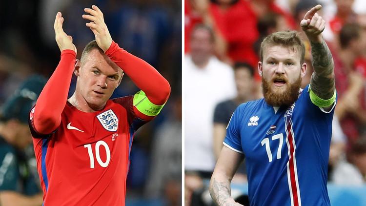 تشكيلة إنجلترا وإيسلندا ..