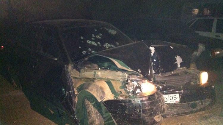 العثور على جثتين داخل سيارة في داغستان