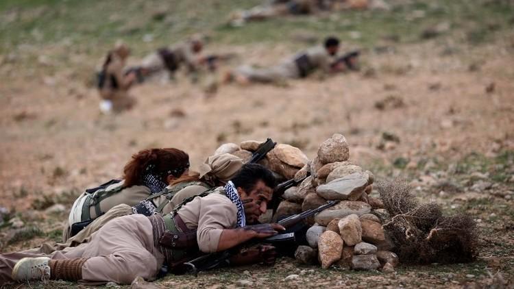 مقتل 11 مسلحا كرديا و3 من الحرس الثوري في إيران