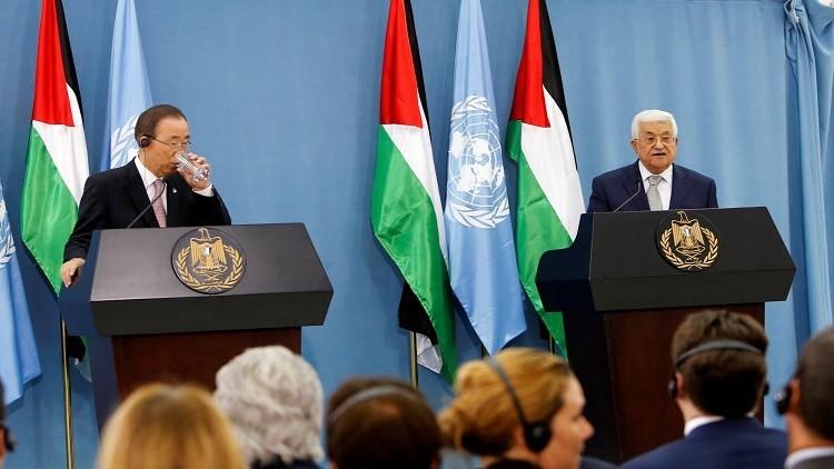 عباس وبان كي مون يؤكدان خيار