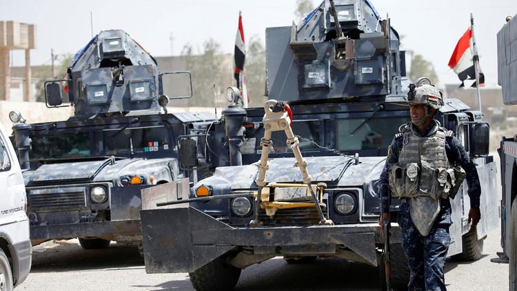 القوات العراقية تقترب من قاعدة جنوب الموصل