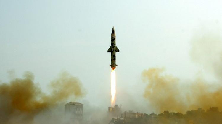 اختبار ناجح لصاروخ هندي إسرائيلي