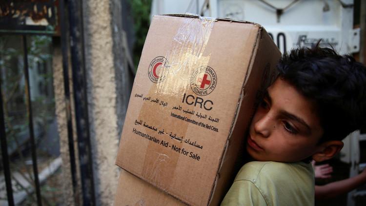 المنظمات الإنسانية تتمكن من الوصول إلى جميع المناطق المحاصرة بسوريا