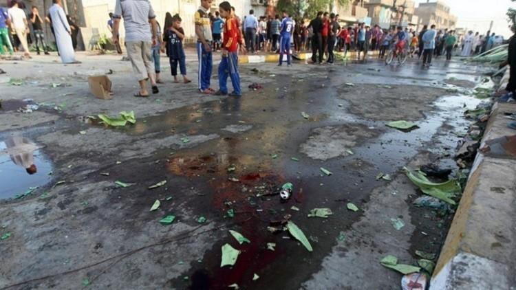 قتلى وجرحى في تفجير انتحاري استهدف أحد الأسواق ببغداد