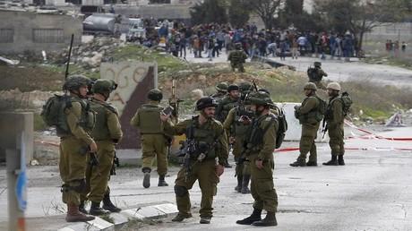 أفراد من الجيش الإسرائيلي في الضفة الغربية