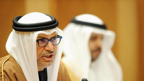 وزير الخارجية الإماراتي أنور بن محمد قرقاش