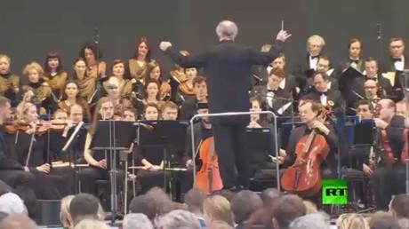 أوركسترا مسرح ماريينسكي الشهير تعزف مؤلفات الملحن الروسي الأسطورة سيرغي بروكوفييف