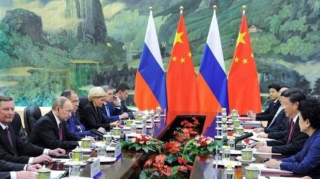 زيارة الرئيس الروسي الى الصين