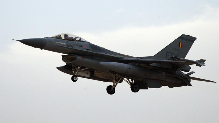 مقاتلات بلجيكية تبدأ مهامها القتالية في سوريا
