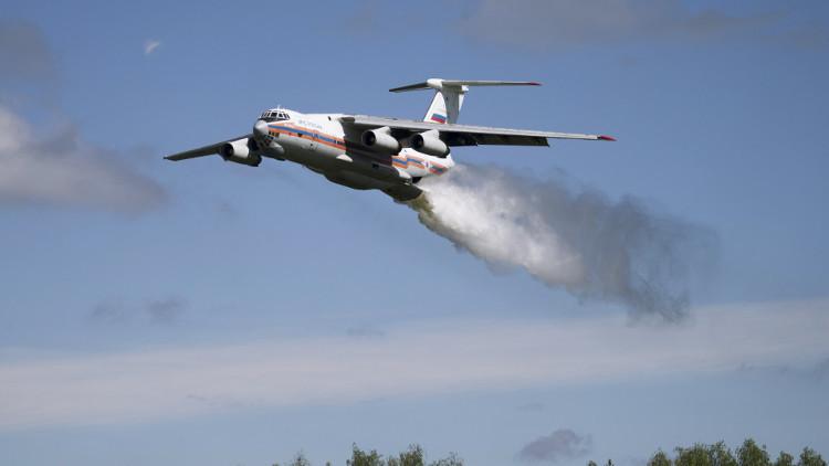 فقدان طائرة طوارئ روسية على متنها 10 أشخاص