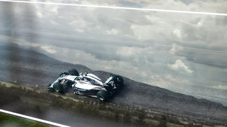 روزبرغ يهيمن على التجارب الحرة لسباق النمسا