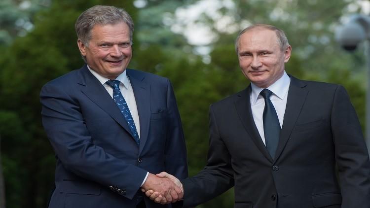 بوتين: فنلندا شريك أساسي لروسيا