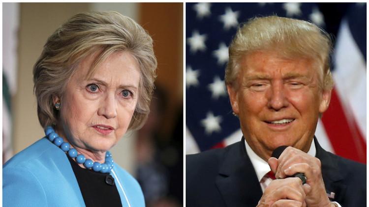 استطلاع: تقدم كلينتون على ترامب يتراجع إلى 9 نقاط