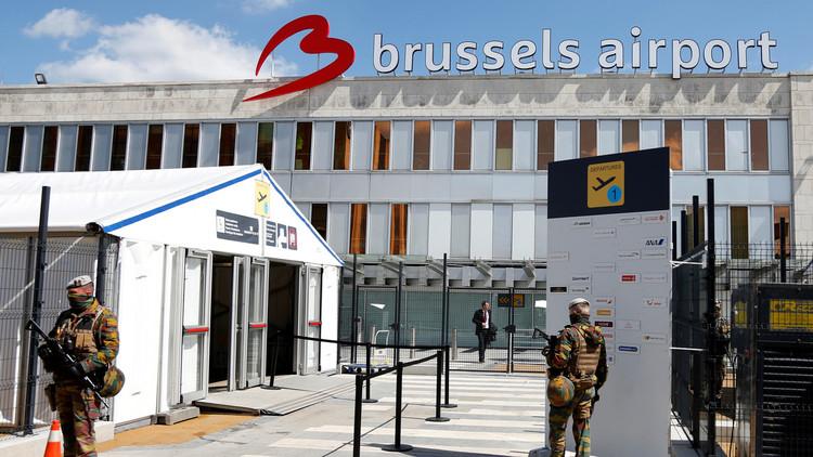 قيادة مطار بروكسل ترفع الحظر عن نقل الأسلحة
