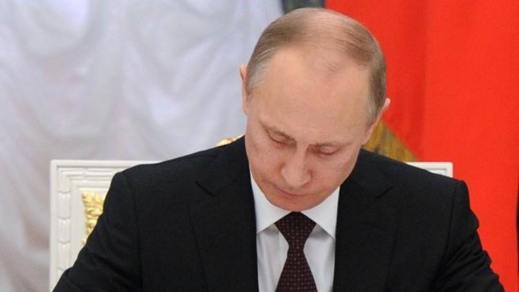 بوتين يوقع قوانين بشأن إنشاء قوات الحرس الوطني