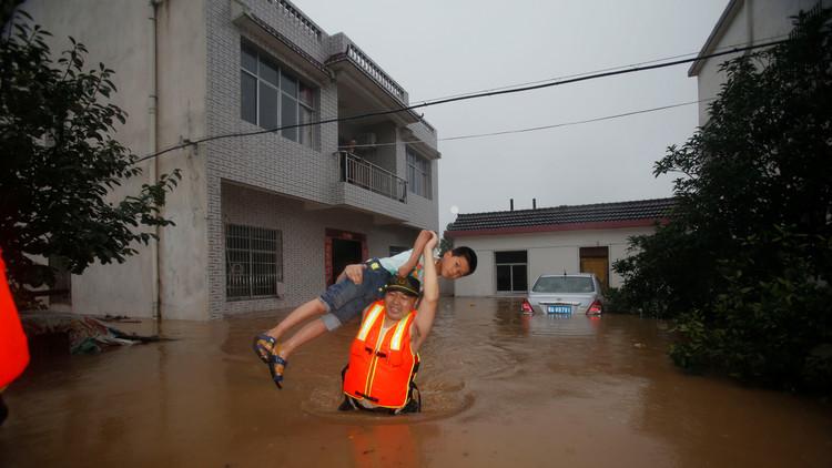 الأمطار تقتل أكثر من 60 شخصا في الصين