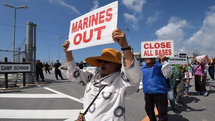 اليابان ممتعضة من استمرار تجاوزات الجنود الأمريكيين