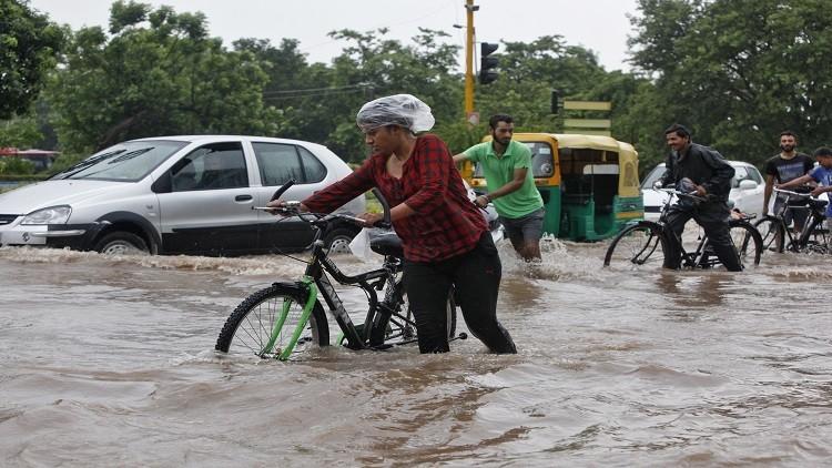 مصرع أكثر من 50 شخصا جراء فيضانات في الهند