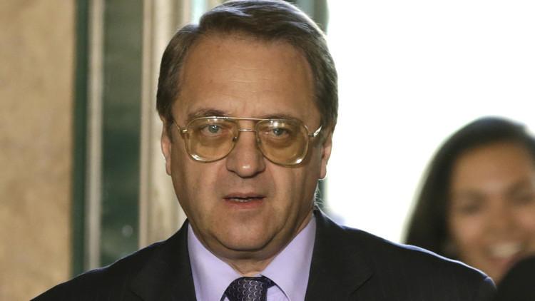 بوغدانوف: دمشق جاهزة لاستئناف محادثات جنيف