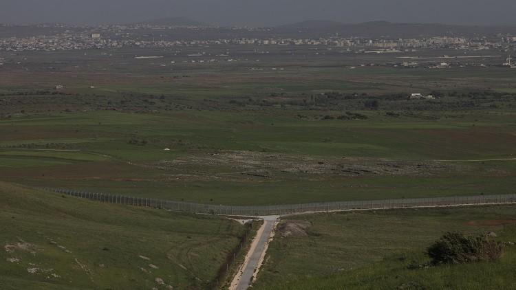 سقوط قذائف من سوريا في شمال هضبة الجولان