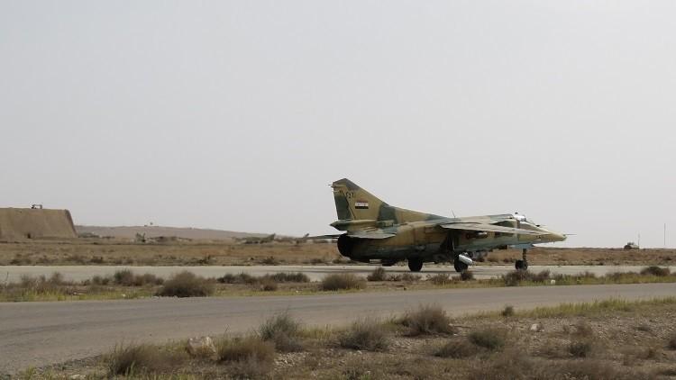الطيران السوري  يستهدف