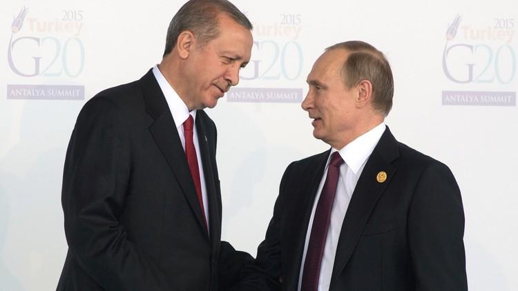أردوغان يأمل في لقاء بوتين قريبا