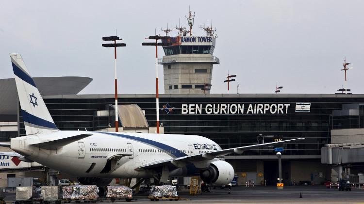 طائرة إسرائيلية تهبط بسلام بعد تهديد بتفجيرها
