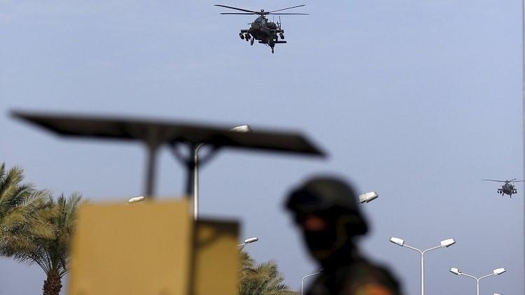 القضاء على 25 مسلحا على الأقل في سيناء