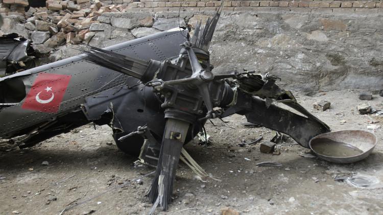 7 قتلى بتحطم مروحية عسكرية في تركيا