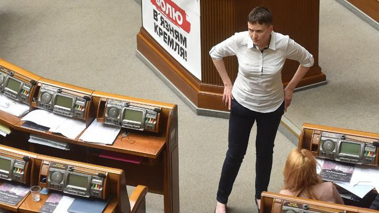 سافتشينكو تدعو لمحاصرة برلمان أوكرانيا
