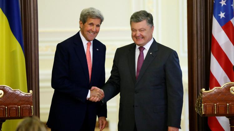 بوروشينكو: سنبحث تنفيذ اتفاقات مينسك على هامش اجتماع الناتو