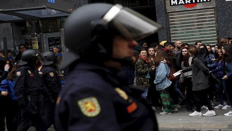 احتجاجات في مدريد وإشبيلية على زيارة أوباما
