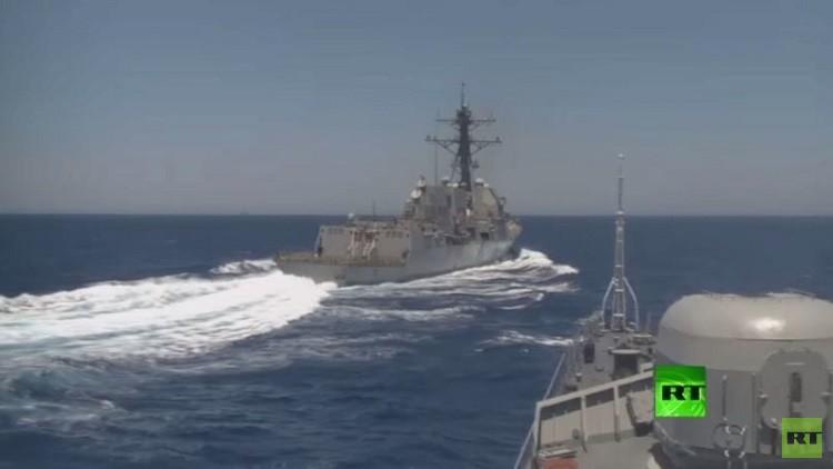 واشنطن: رصدنا سفينة تجسس روسية قرب مياهنا