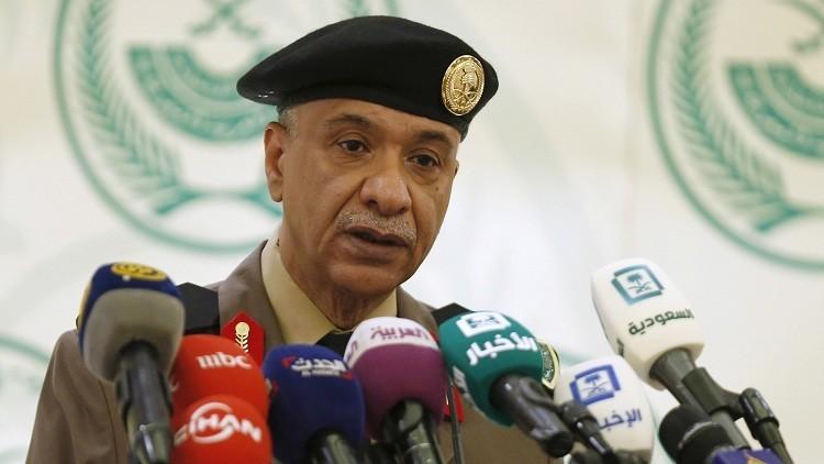 المتحدث باسم الداخلية السعودية اللواء منصور التركي