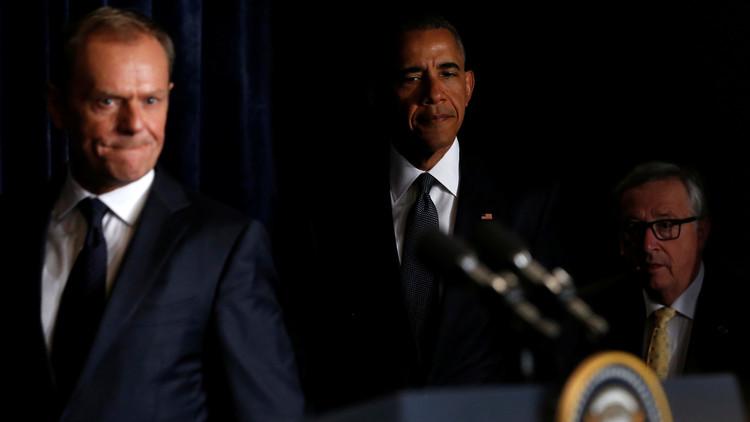 توافق أمريكي أوروبي حول ضرورة تمديد العقوبات ضد روسيا