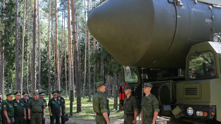 قوات الصواريخ الاستراتيجية تتدرب على الصمود في مختلف الظروف