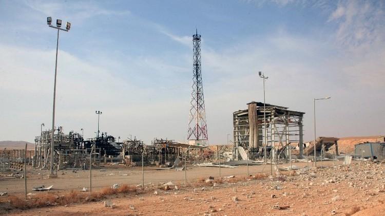داعش يفجر معملا للغاز في ريف حمص