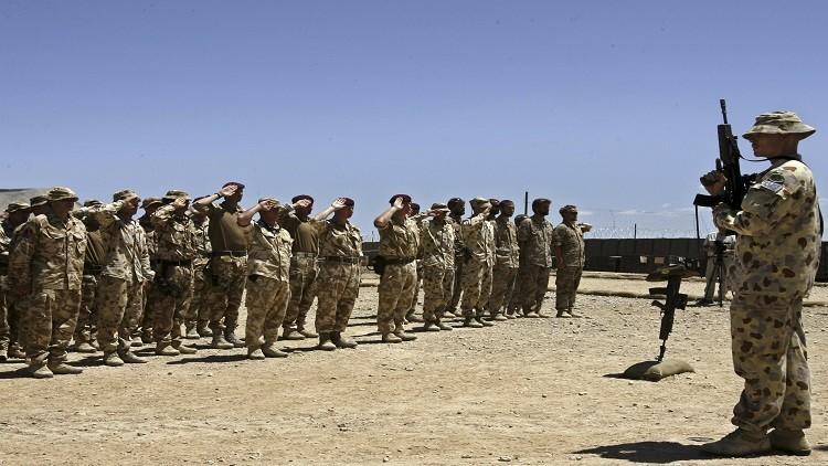 أستراليا في أفغانستان حتى منتصف 2017
