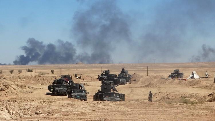 تحرير منطقتين شمال الرمادي من سيطرة داعش