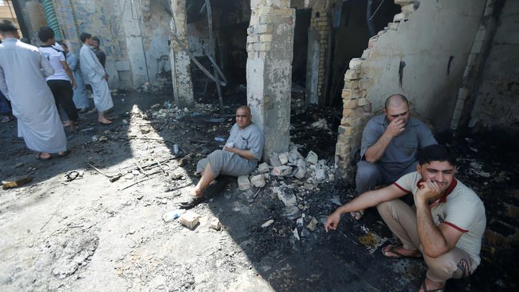 8 قتلى في بغداد وارتفاع حصيلة تفجير بلد إلى 40