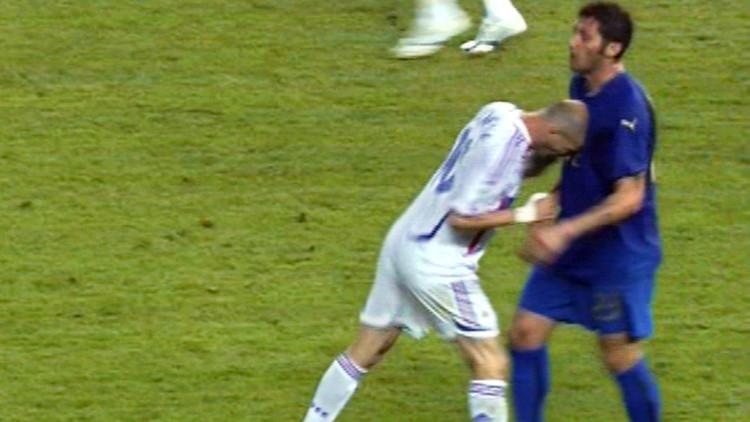 ماتيرازي يعترف بماذا استفز زيدان في مونديال 2006