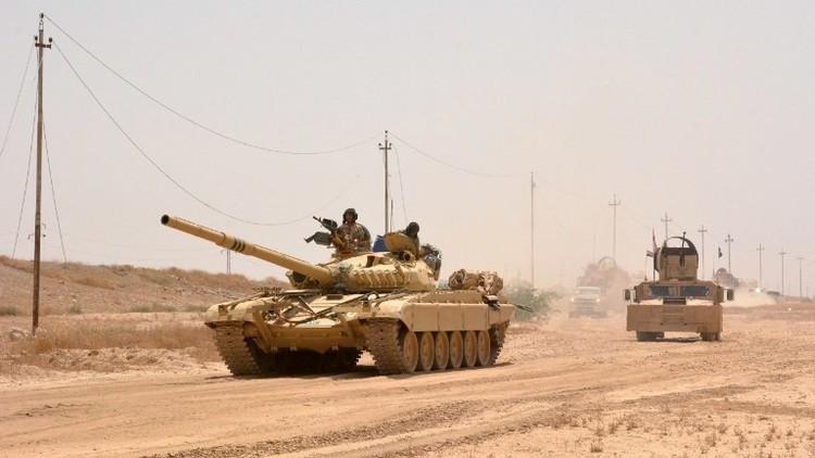 القوات العراقية تدخل قاعدة القيارة جنوب الموصل