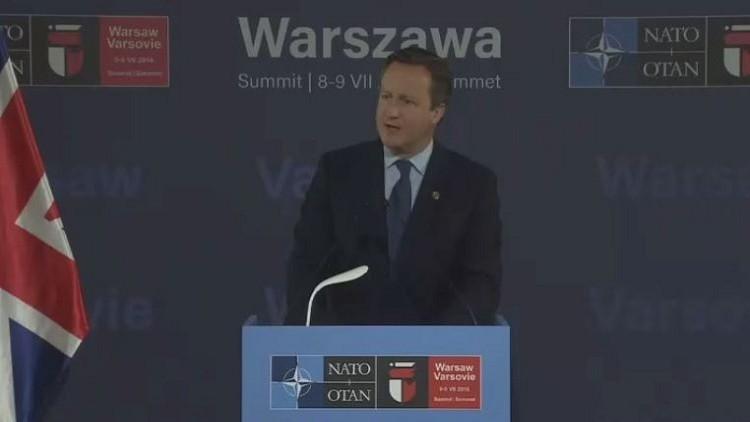 كاميرون: سنستثمر في الردع النووي ونواصل الحوار مع روسيا