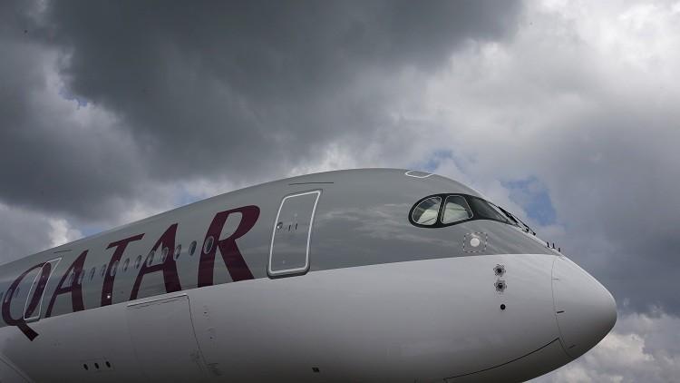 هبوط طائرة قطرية اضطراريا في مطار بوخارست