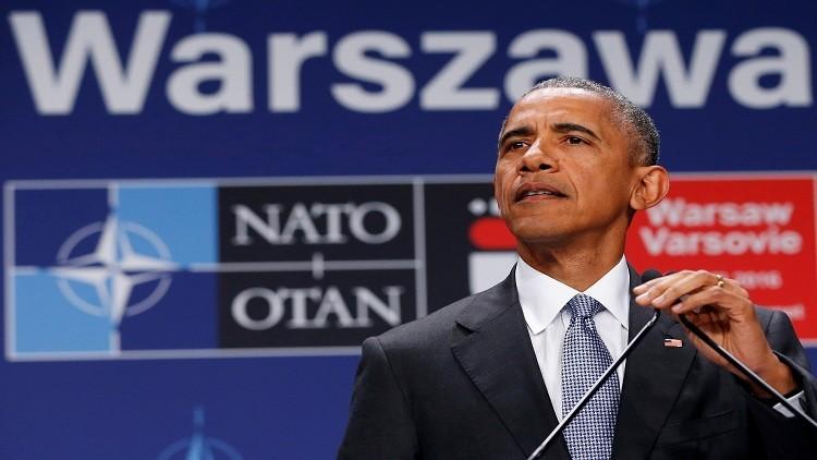 أوباما: لم نواجه في تاريخ الناتو تحديات مثل الآن