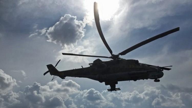 إنترفاكس عن مصدرعسكري: المروحية السورية أسقطت بصاروخ أمريكي